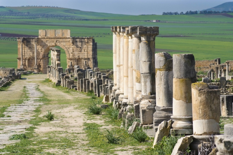 Volubilis, a day Trip from Palais Amani